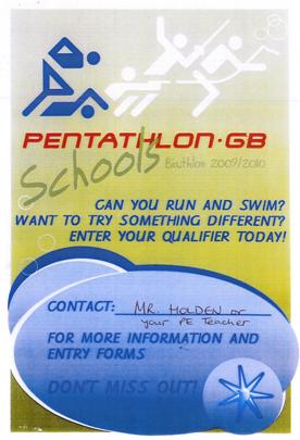 Pentathlon-Poster