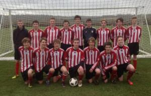 Y11 school football team