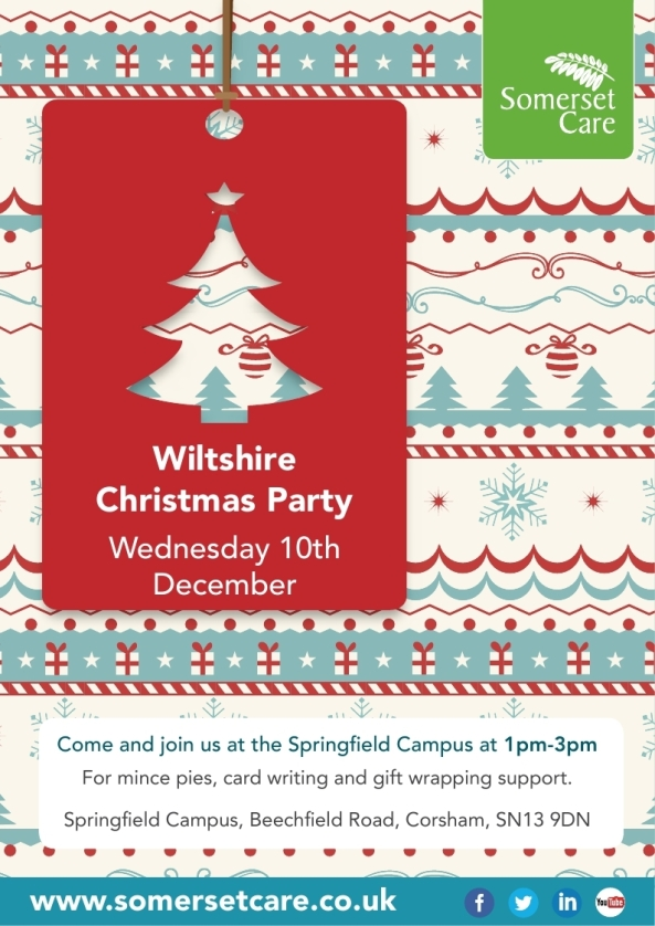 Wiltshire Christmas Party poster