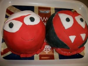 Comic Relief Cake